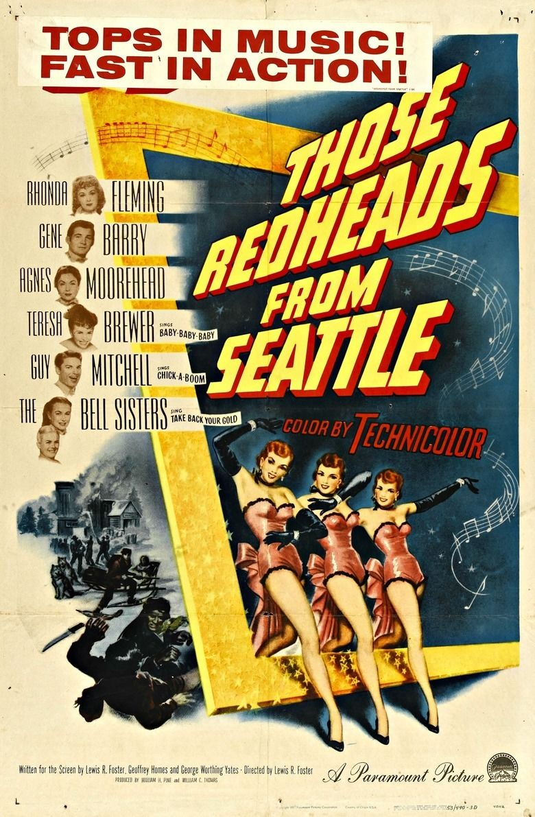 Those Redheads from Seattle movie poster