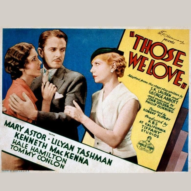 Those We Love movie poster