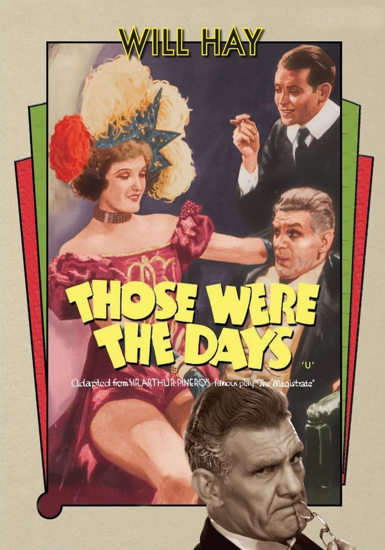 Those Were the Days (1934 film) movie poster