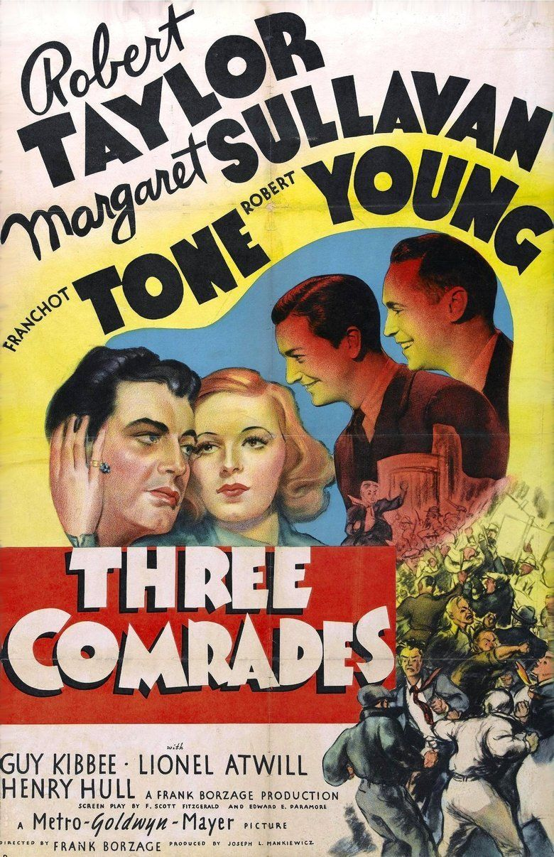 Three Comrades (film) movie poster