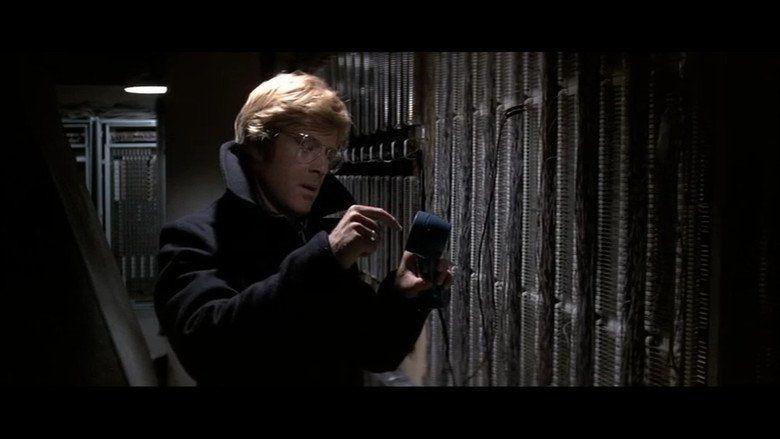 Three Days of the Condor movie scenes