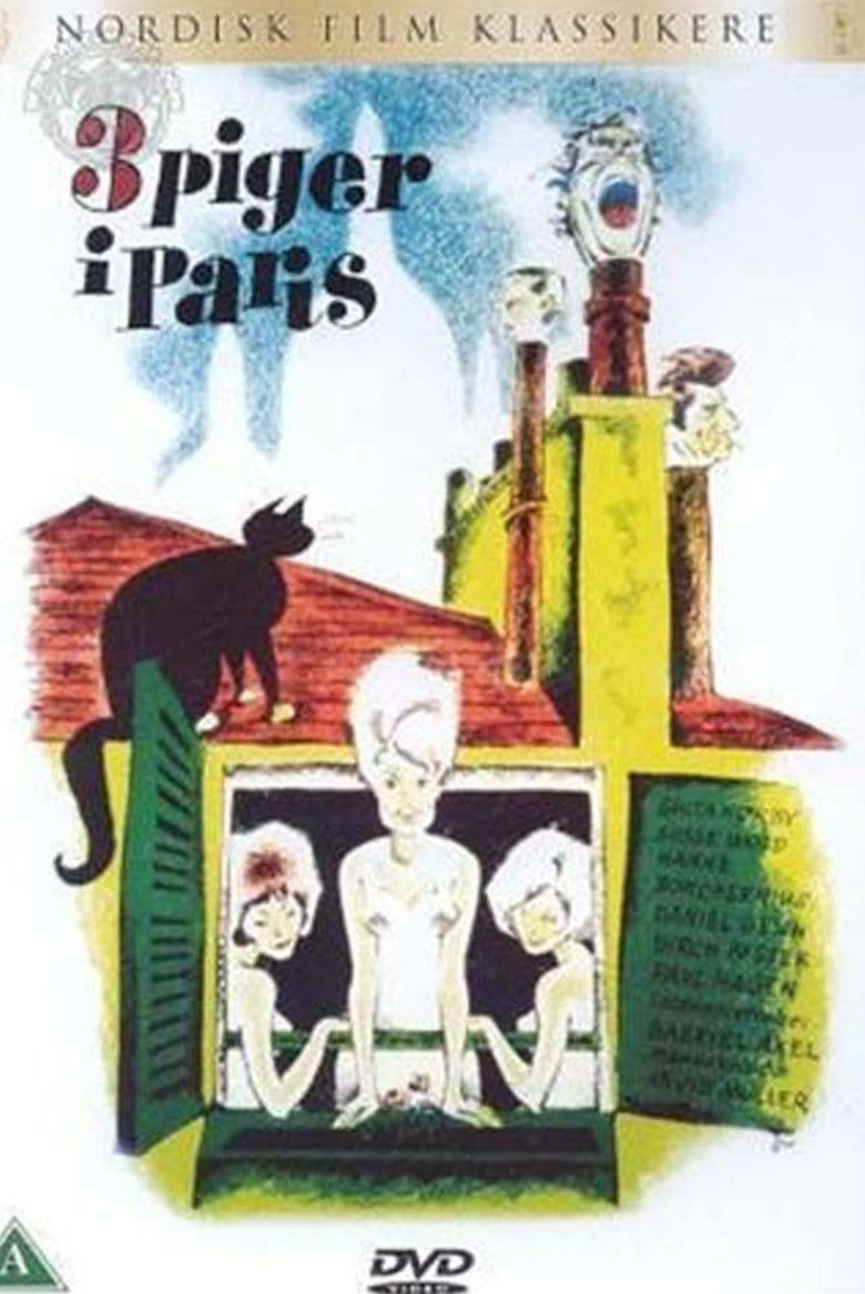 Three Girls in Paris movie poster