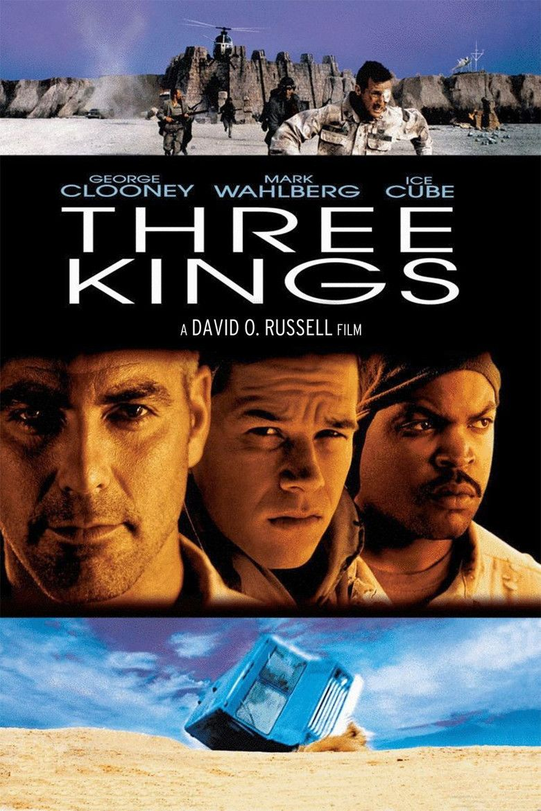 Three Kings (1999 film) movie poster
