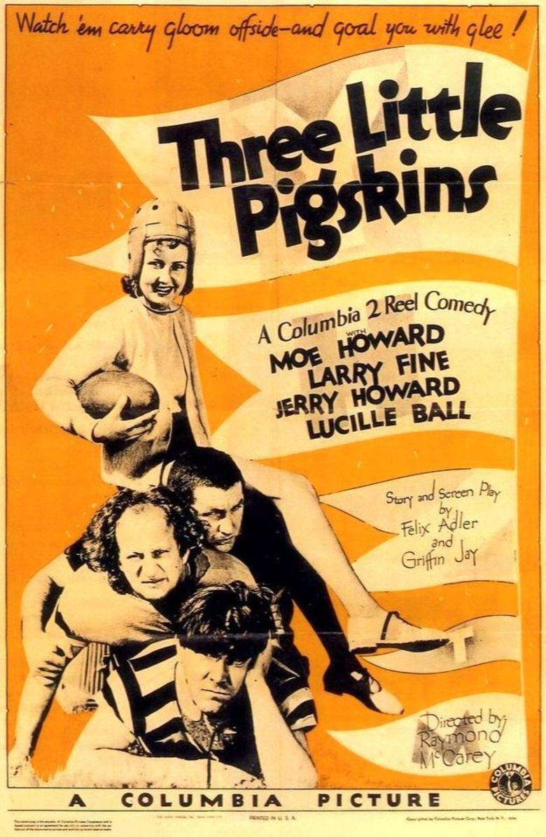 Three Little Pigskins movie poster