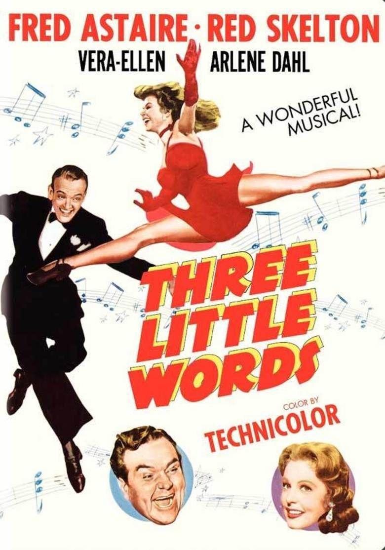 Three Little Words (film) movie poster