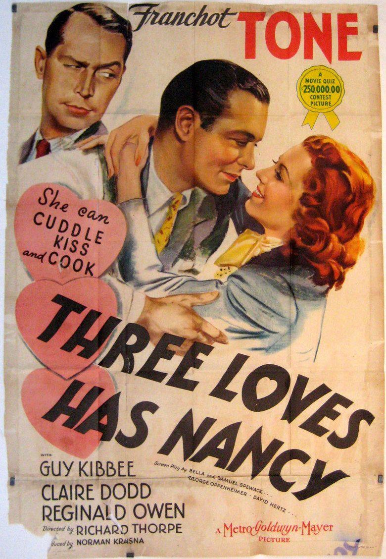 Three Loves Has Nancy movie poster