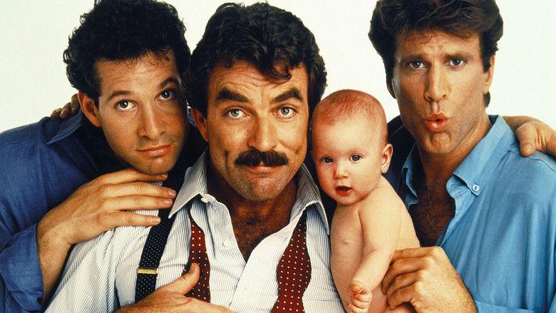 Three Men and a Baby movie scenes