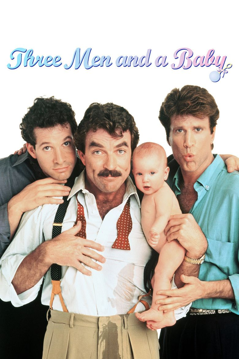 Three Men and a Baby movie poster