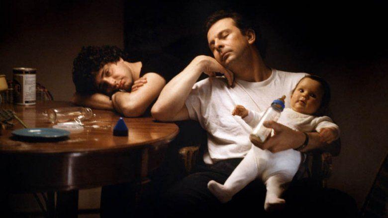 Three Men and a Cradle movie scenes