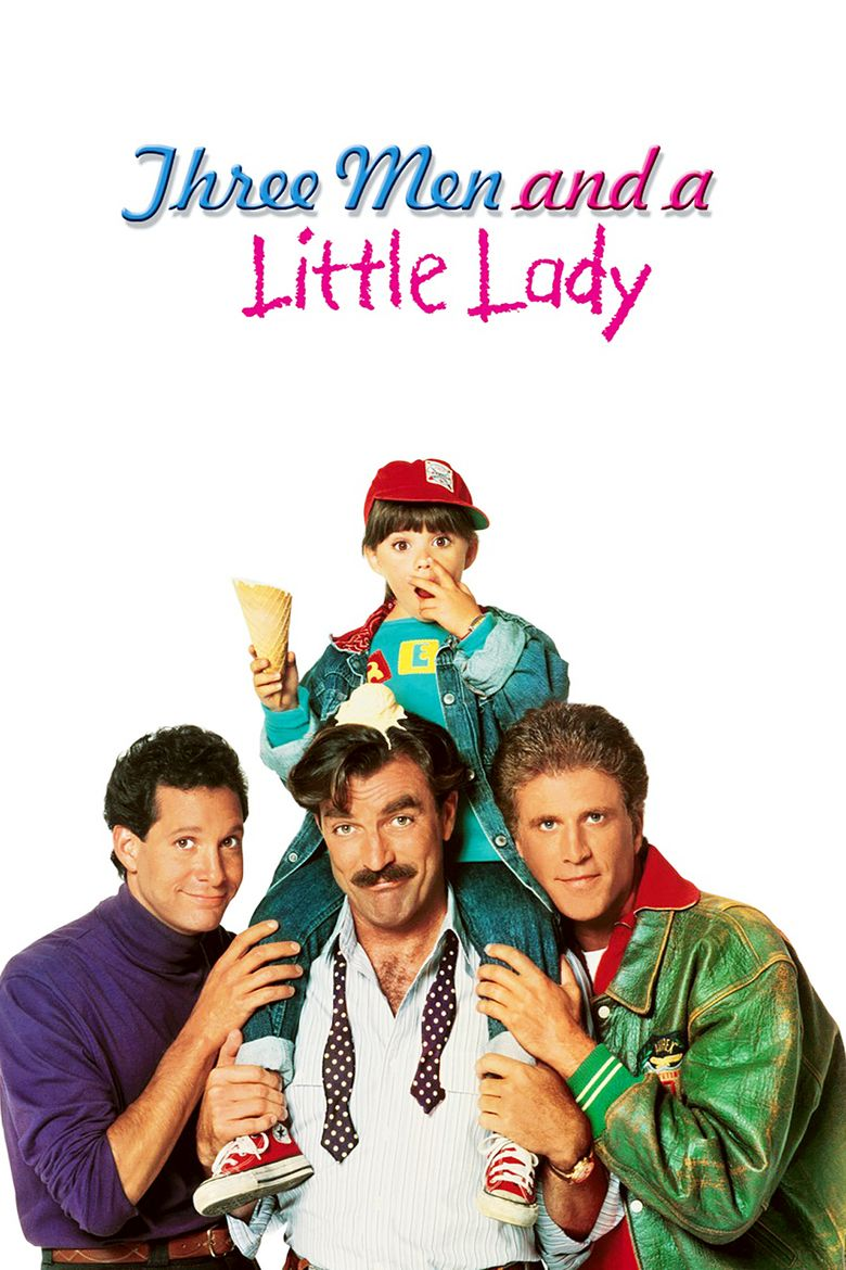 Three Men and a Little Lady movie poster