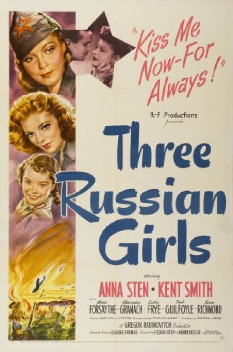 Three Russian Girls movie poster