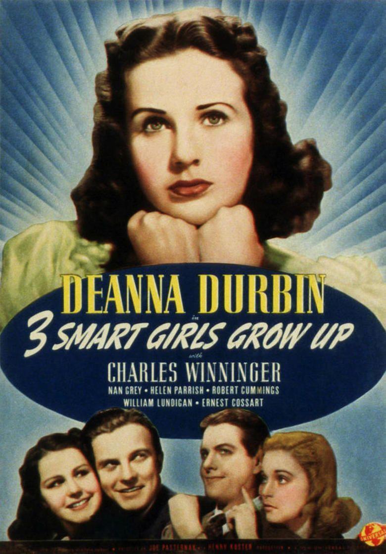 Three Smart Girls Grow Up movie poster