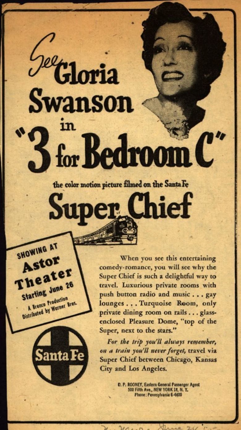 Three for Bedroom C movie poster