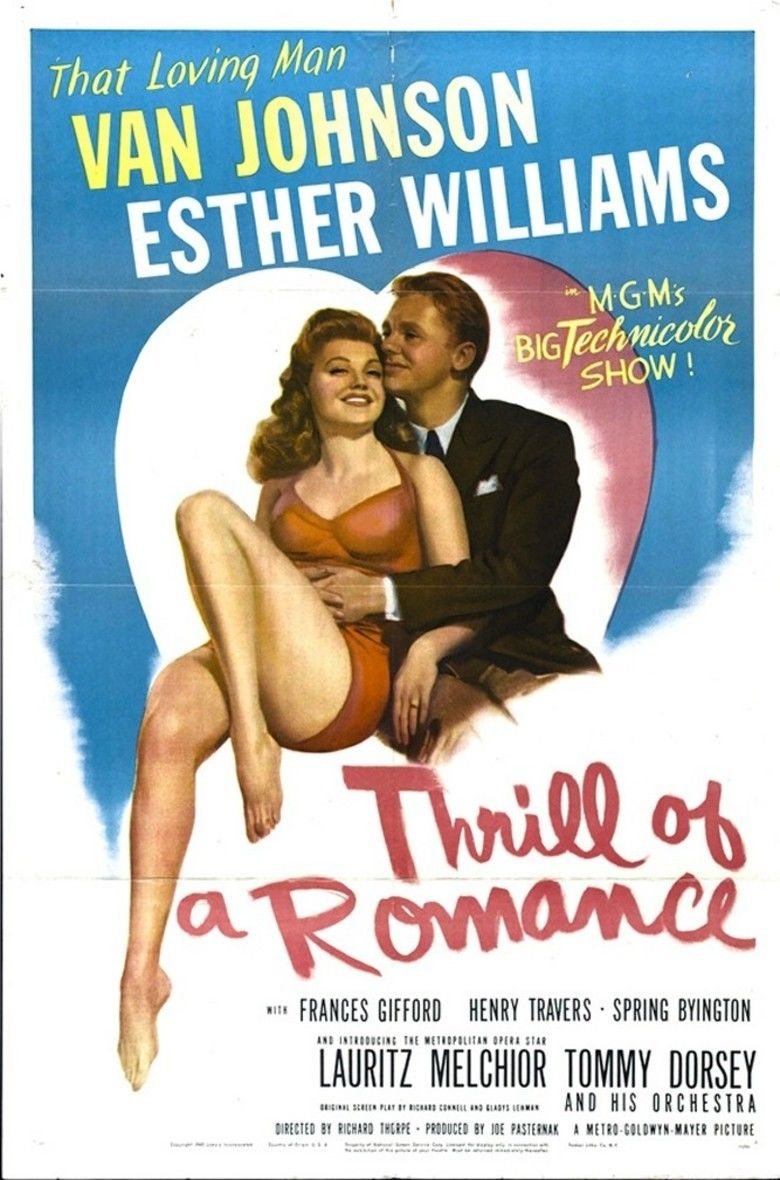 Thrill of a Romance movie poster