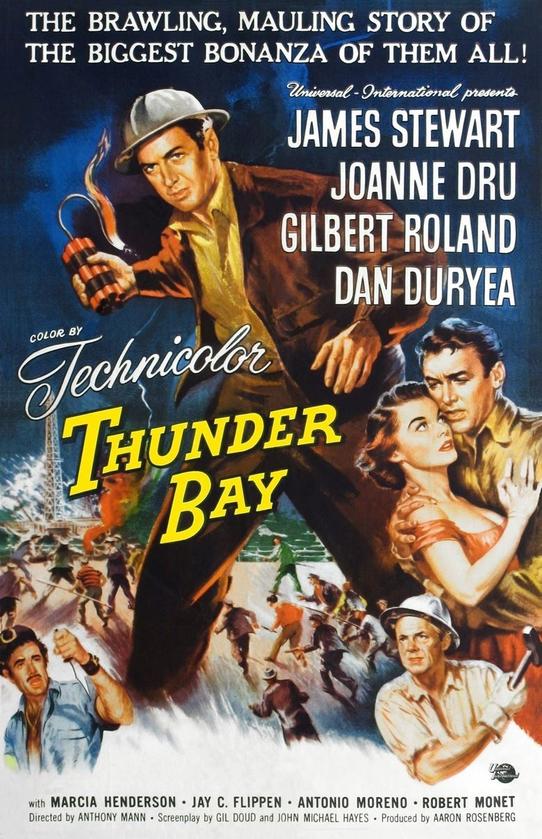 Thunder Bay (film) movie poster