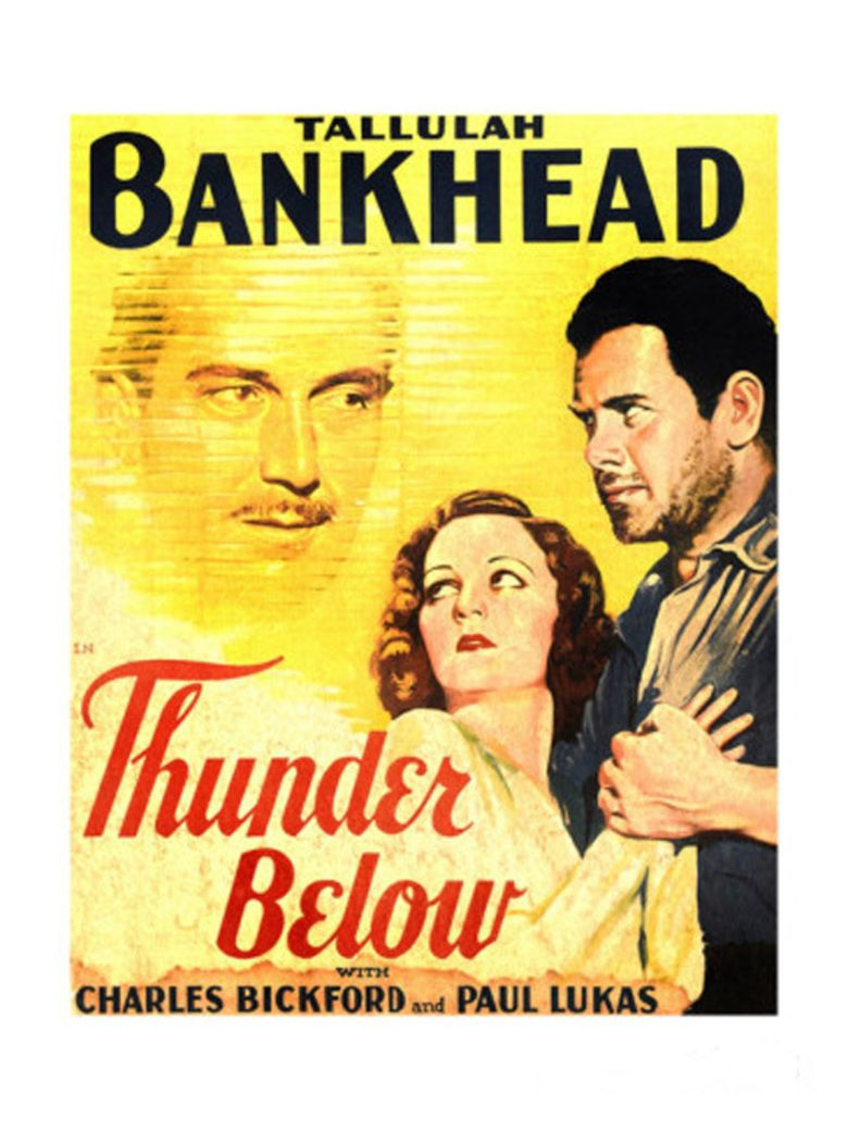 Thunder Below movie poster