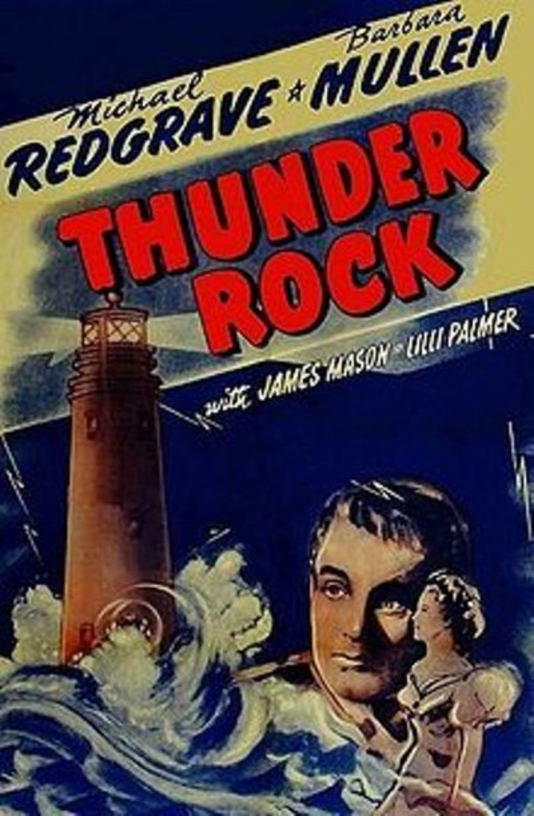 Thunder Rock (film) movie poster