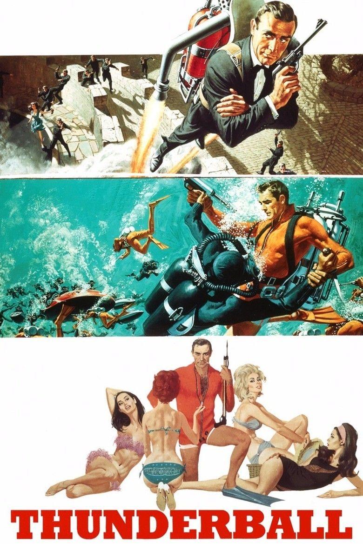 Thunderball (film) movie poster