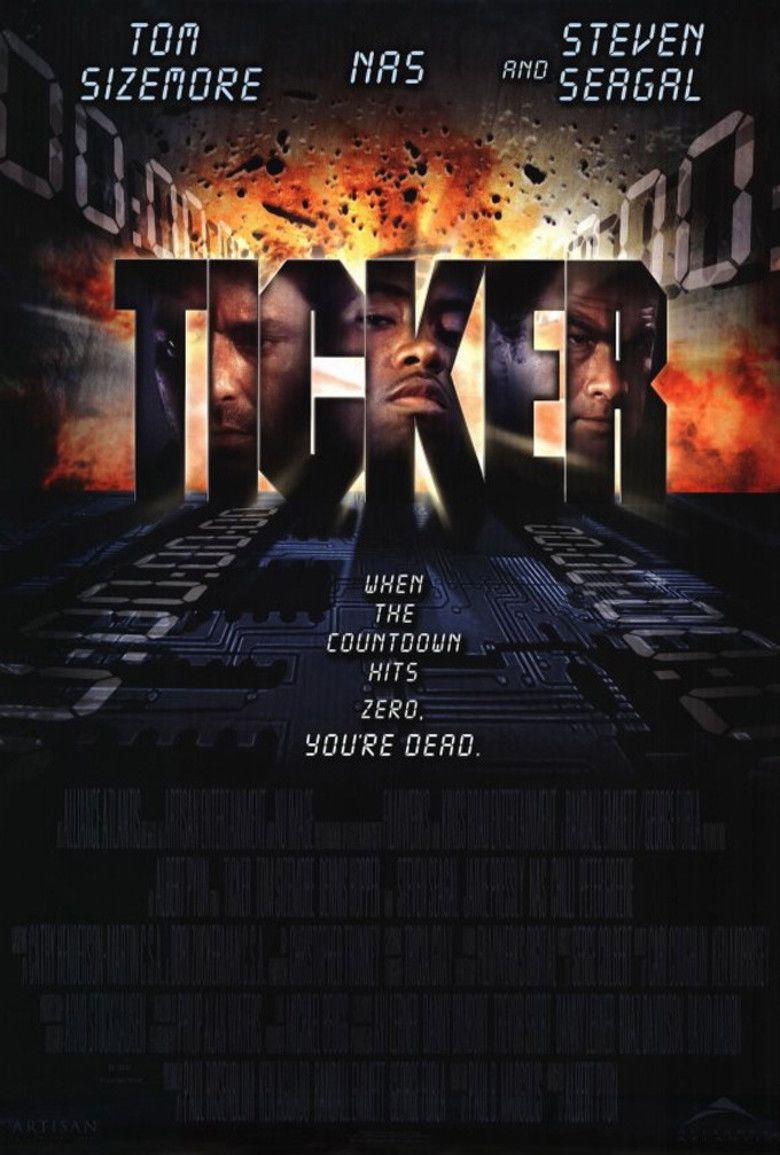 Ticker (2001 film) movie poster
