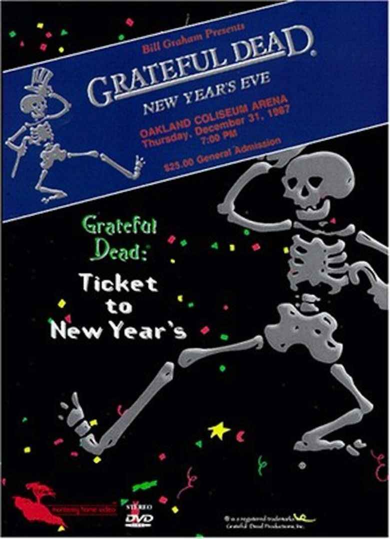 Ticket to New Years movie poster