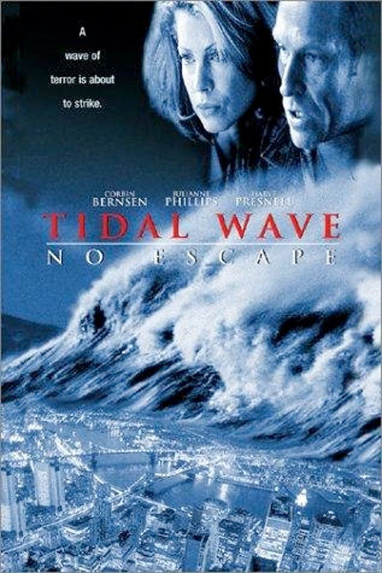 Tidal Wave: No Escape movie poster