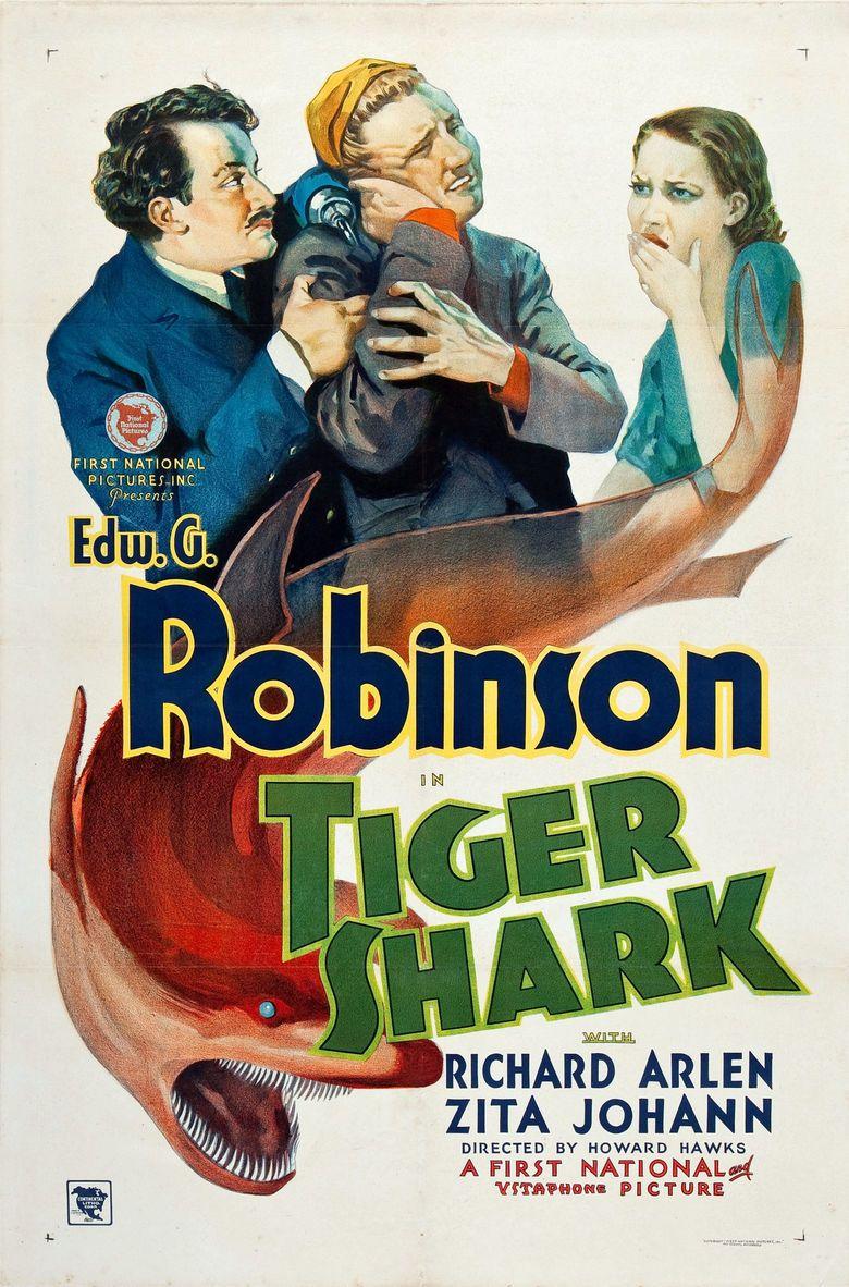 Tiger Shark (film) movie poster