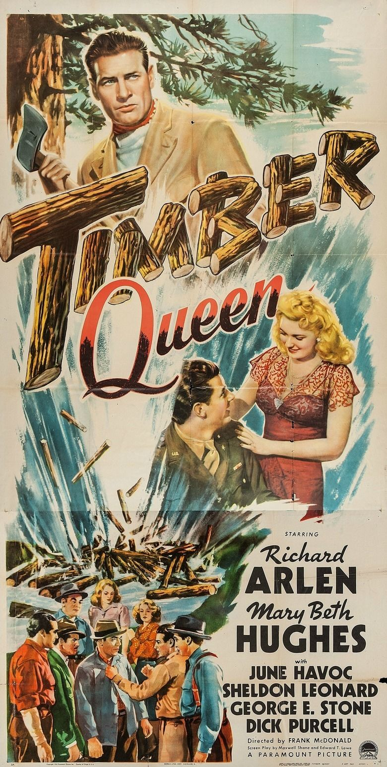 Timber Queen (1944 film) movie poster