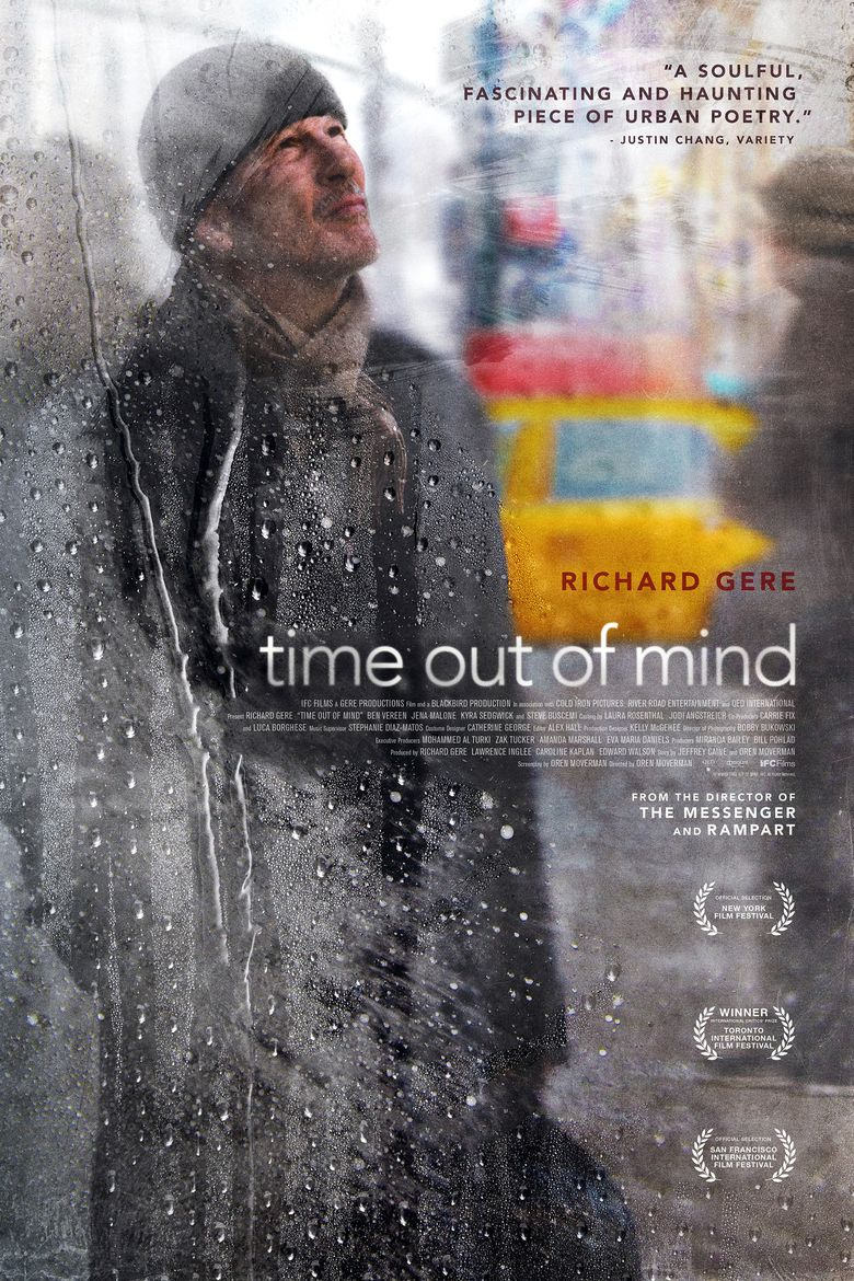 Time Out of Mind (2014 film) movie poster