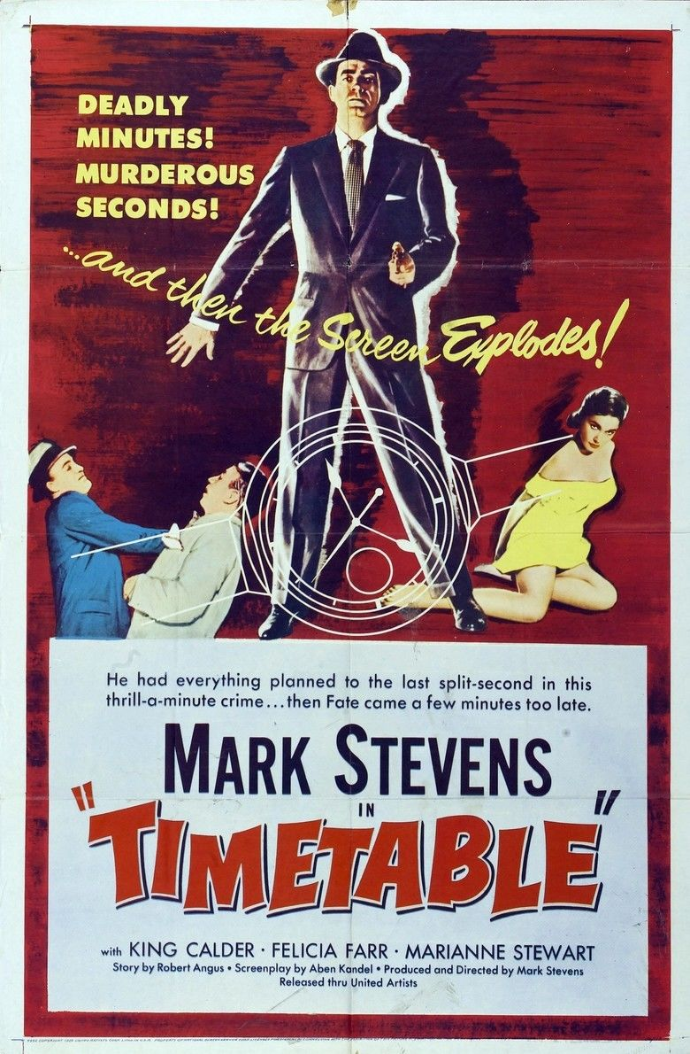 Time Table (film) movie poster