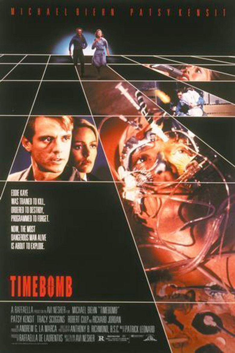 Timebomb (1991 film) movie poster