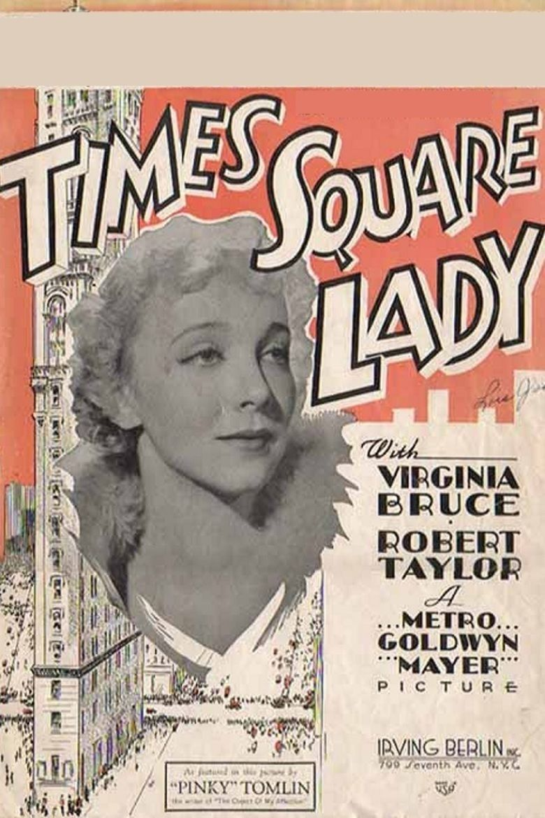 Times Square Lady movie poster