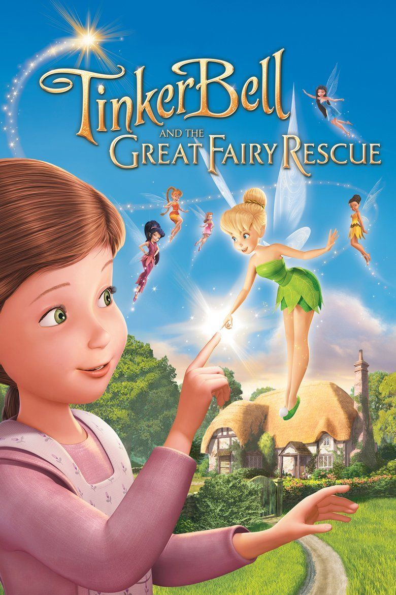 Tinker Bell and the Great Fairy Rescue movie poster