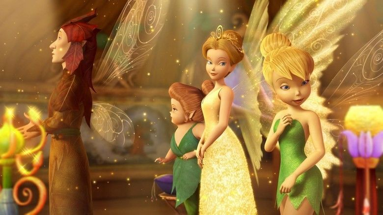 Tinker Bell and the Lost Treasure movie scenes