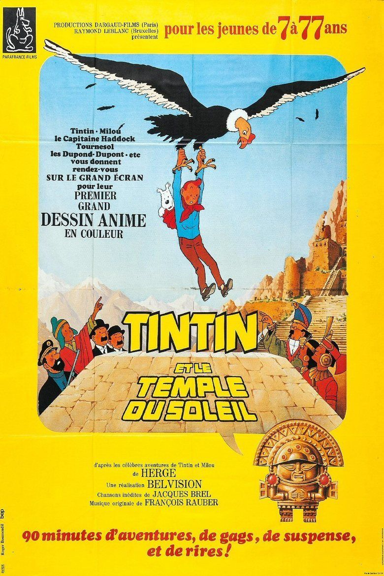 Tintin and the Temple of the Sun movie poster