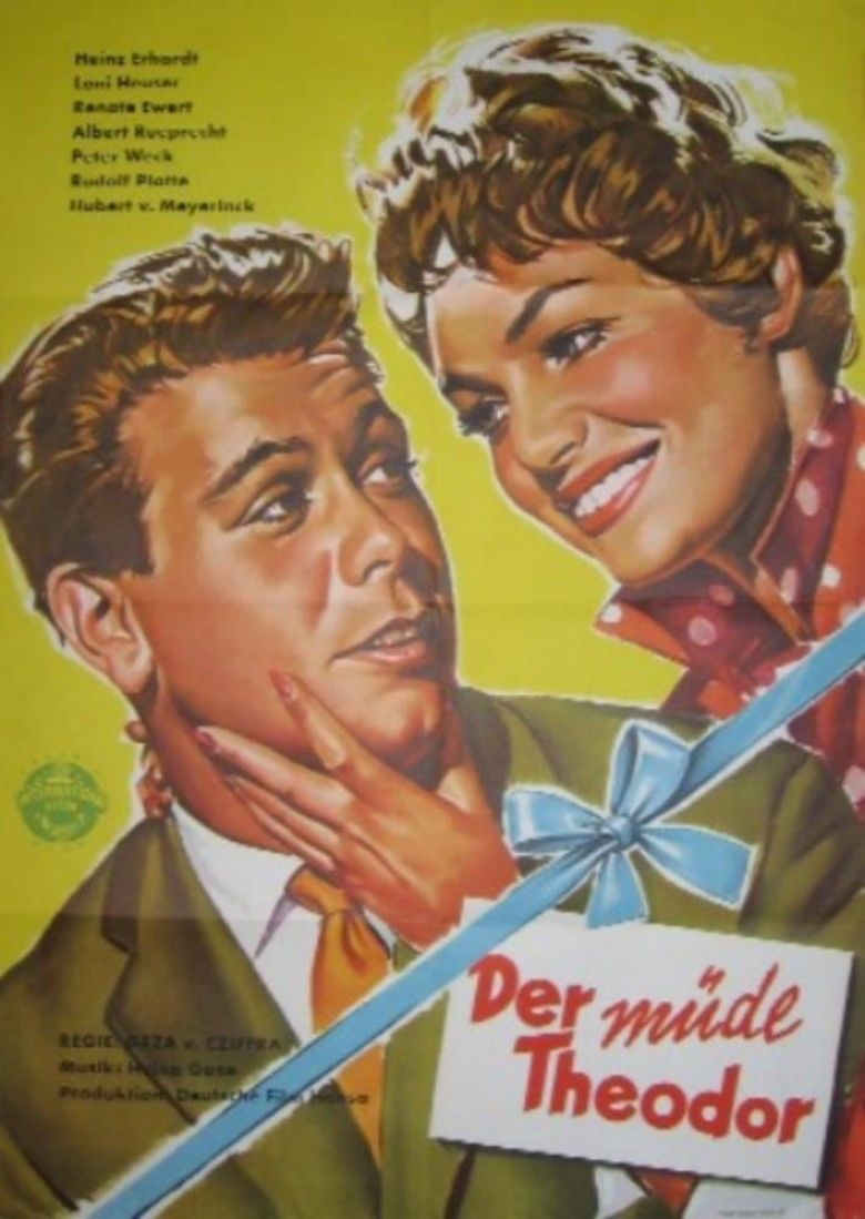 Tired Theodore (1957 film) movie poster