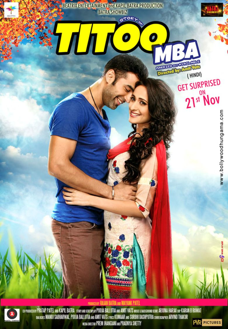 Titoo MBA movie poster