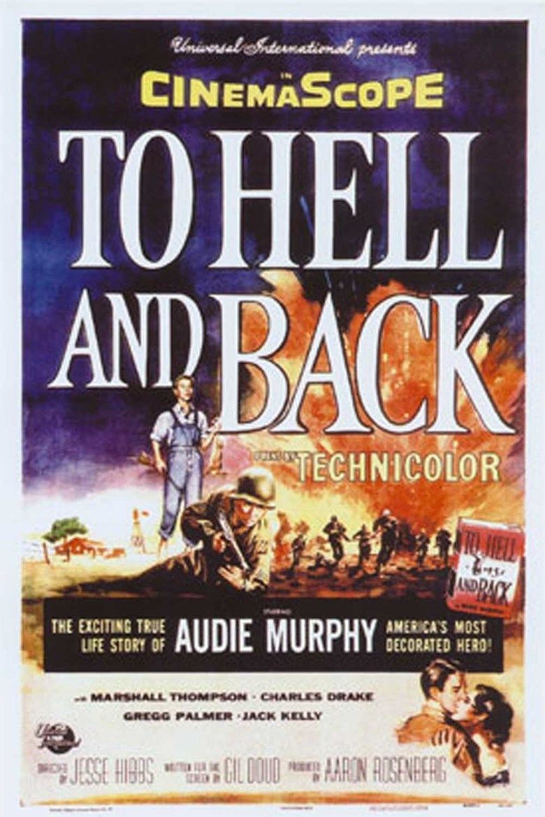 To Hell and Back (film) movie poster