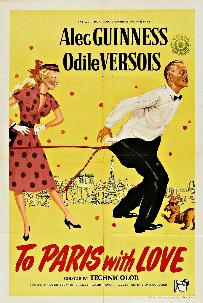 To Paris with Love movie poster