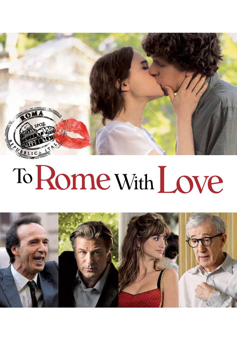 To Rome with Love (film) movie poster