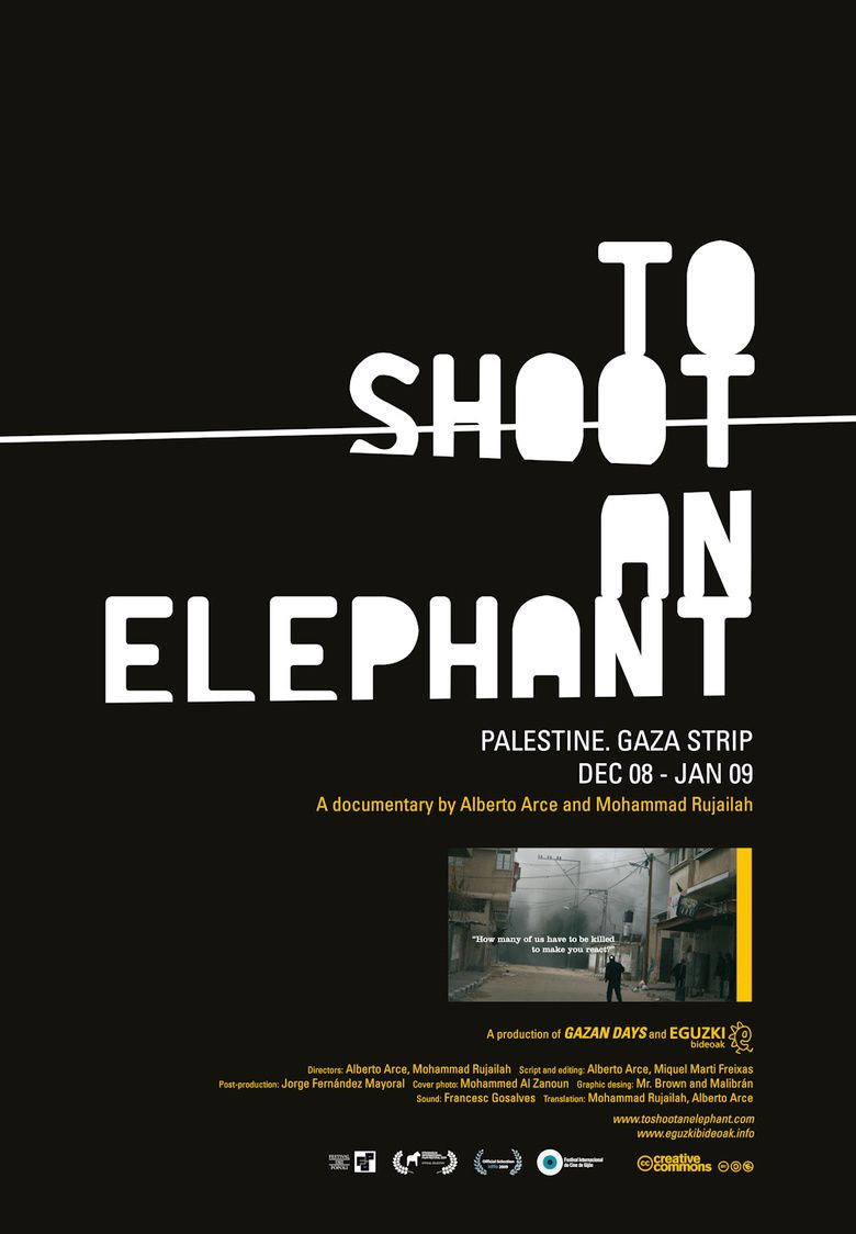 To Shoot an Elephant movie poster