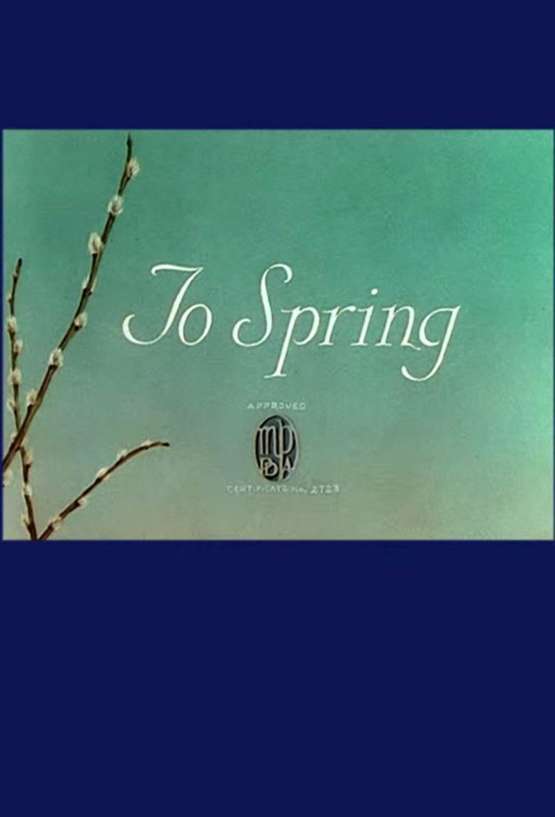 To Spring movie poster