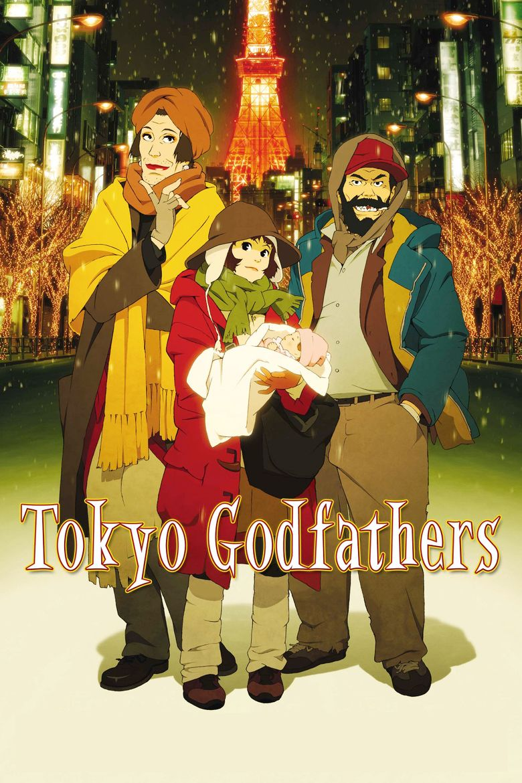 Tokyo Godfathers movie poster