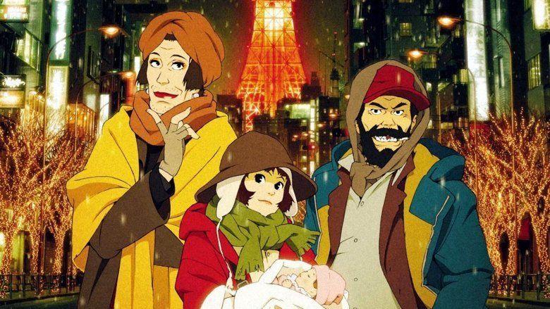 Tokyo Godfathers movie scenes