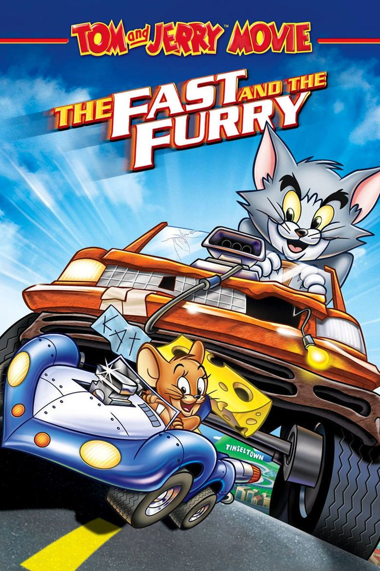 Tom and Jerry: The Fast and the Furry movie poster
