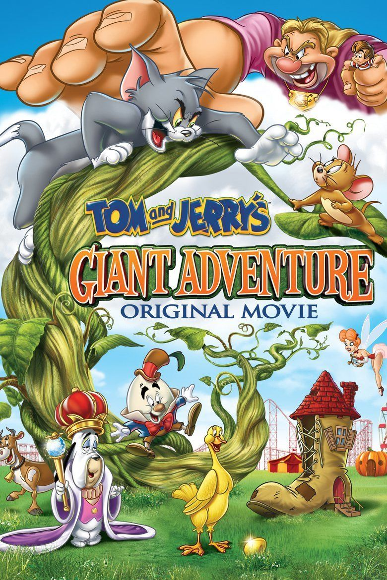 Tom and Jerrys Giant Adventure movie poster