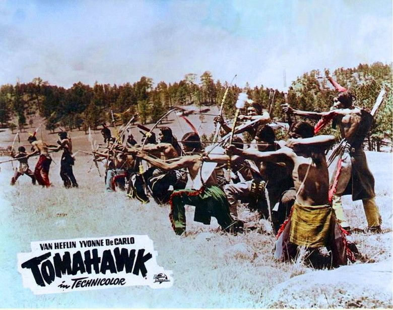 Tomahawk (film) movie scenes