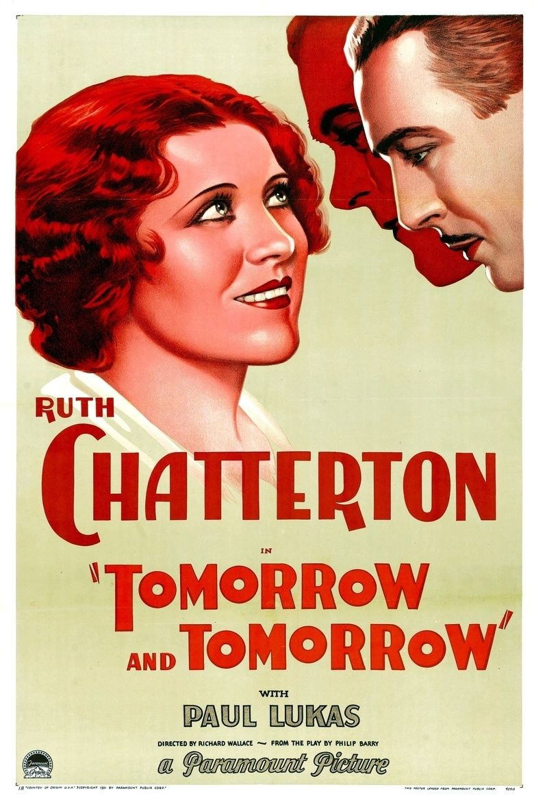 Tomorrow and Tomorrow (film) movie poster