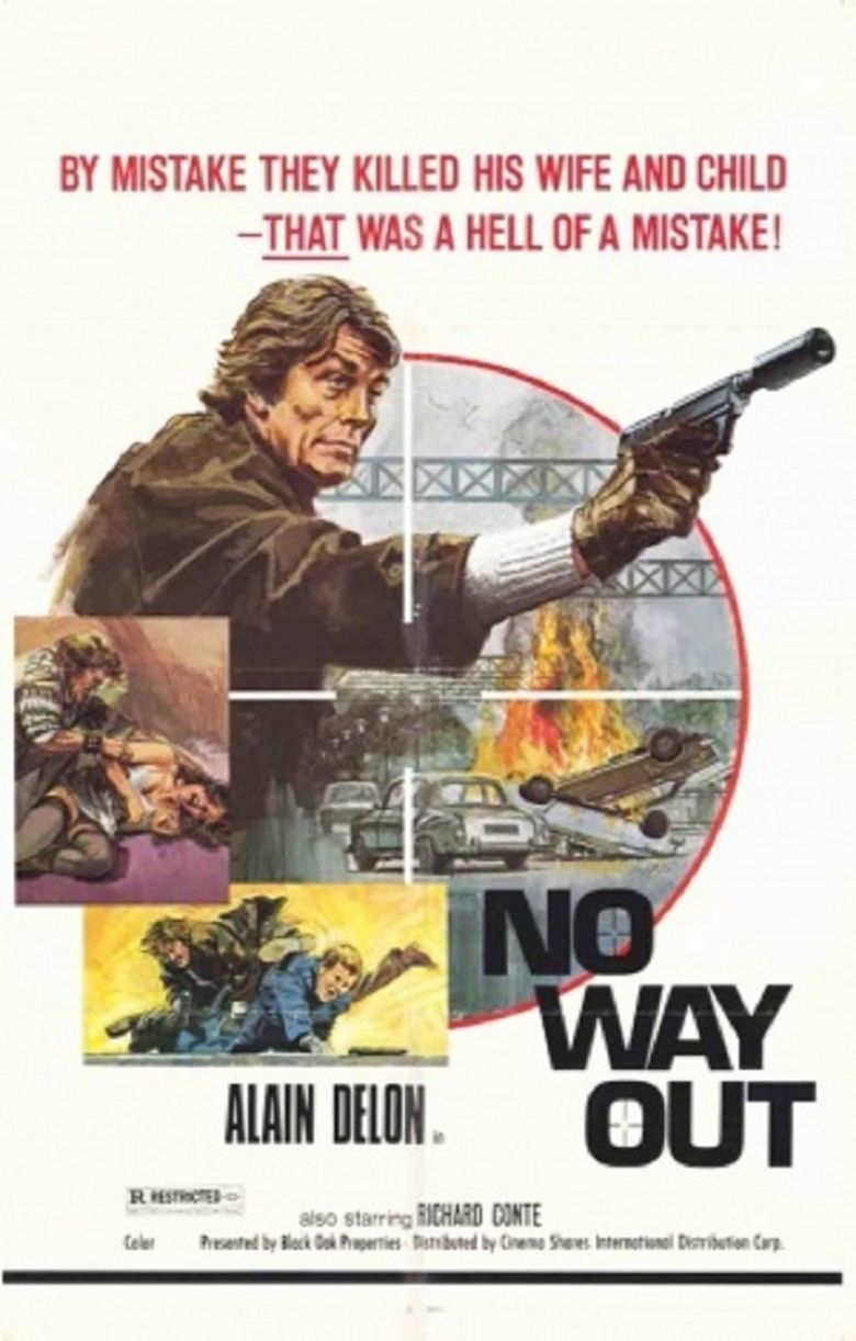 Tony Arzenta Alain Delon movie poster