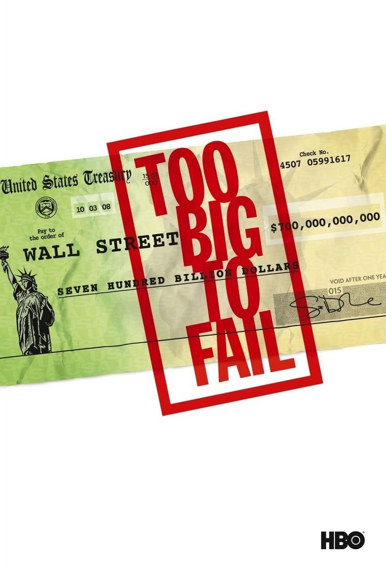 Too Big to Fail (film) movie poster