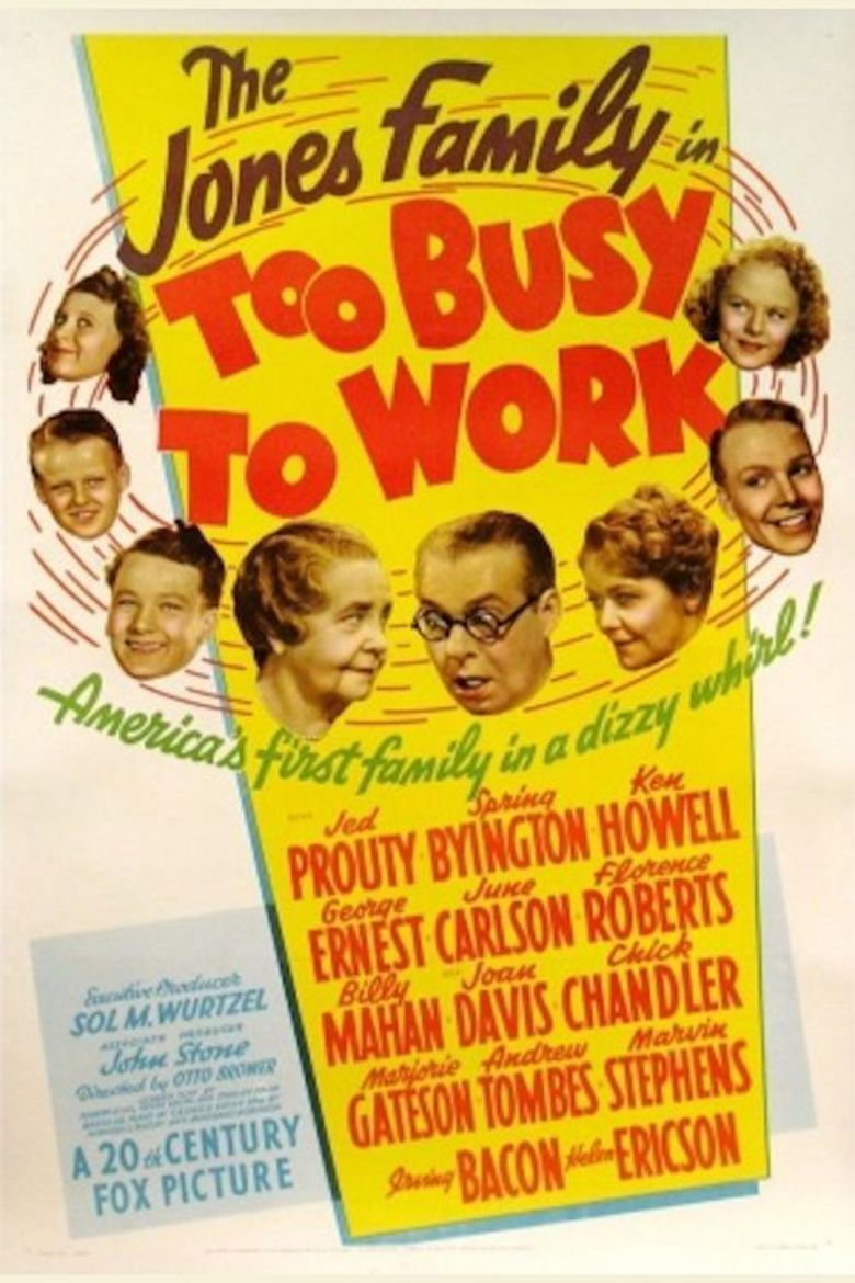 Too Busy to Work movie poster
